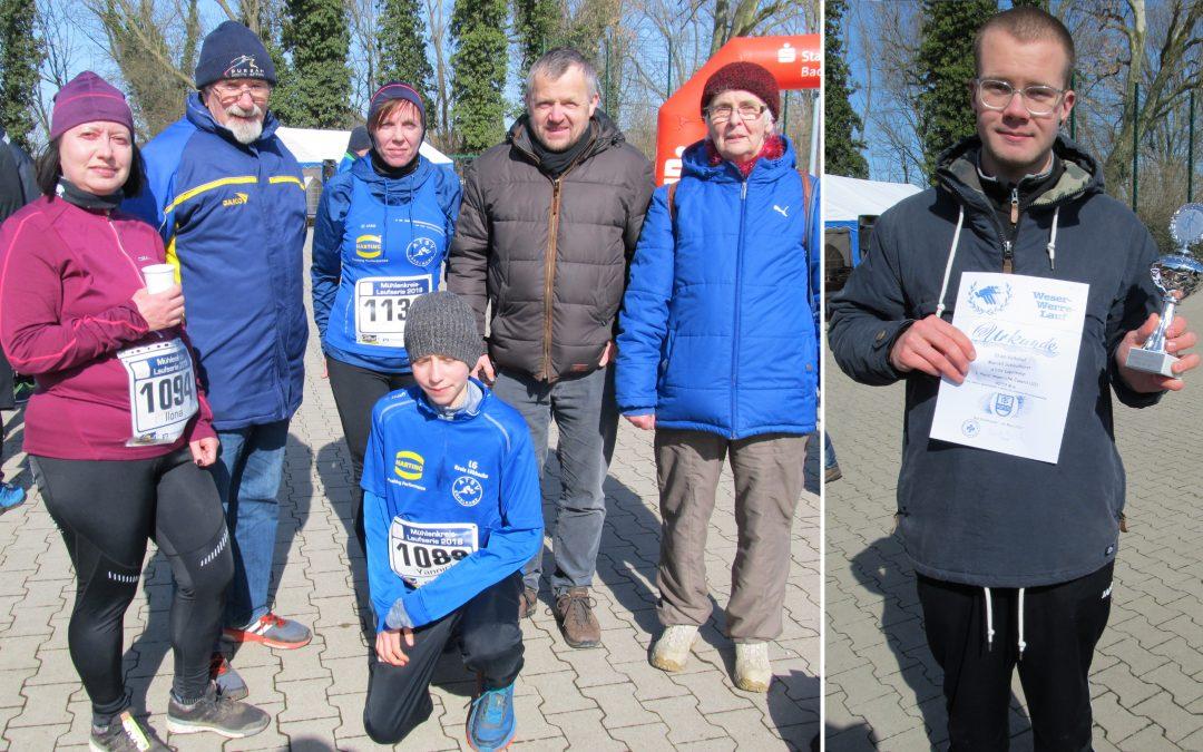Gute Ergebnisse beim Weser Werre Lauf