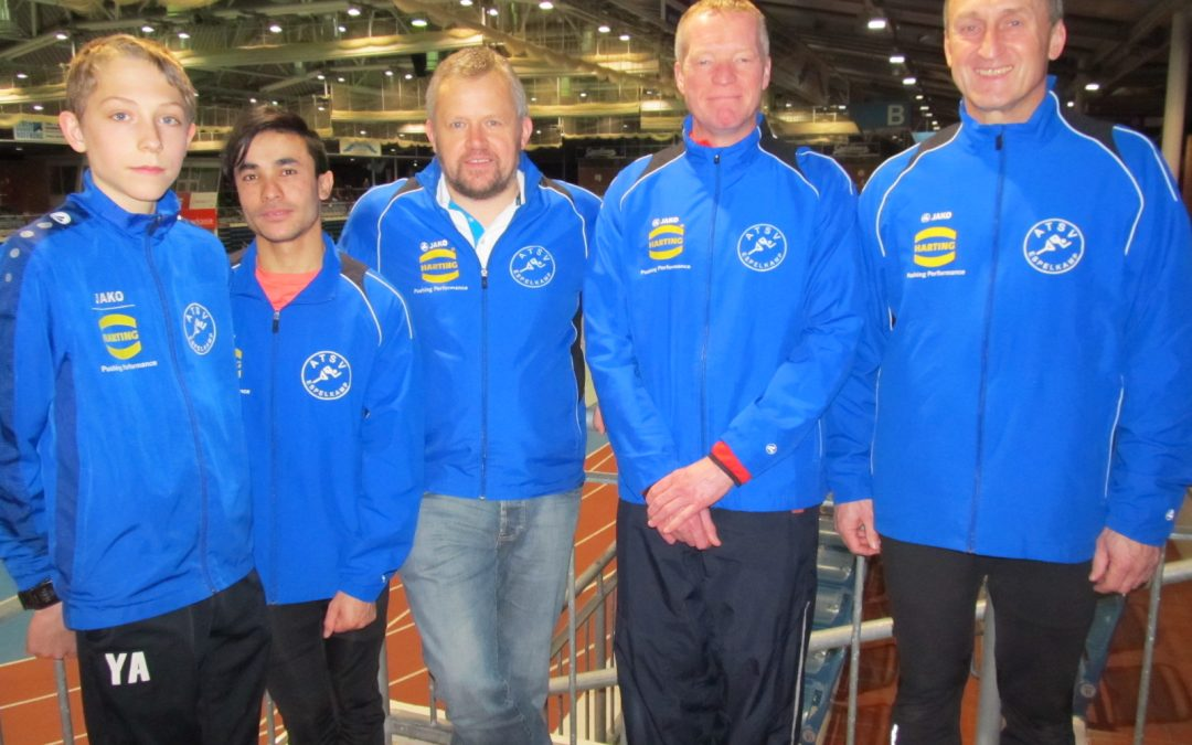 Erstes Hallensportfest für die Leichtathleten des ATSV Espelkamp